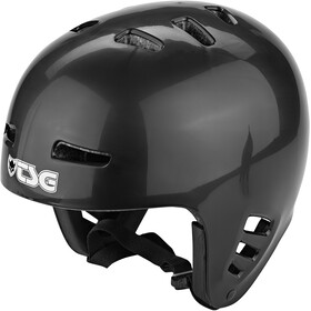 TSG Dawn Solid Color Cykelhjelm, black